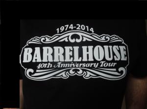 fijne zwarte t-shirts met feest opdruk: 40th Anniversary Tour